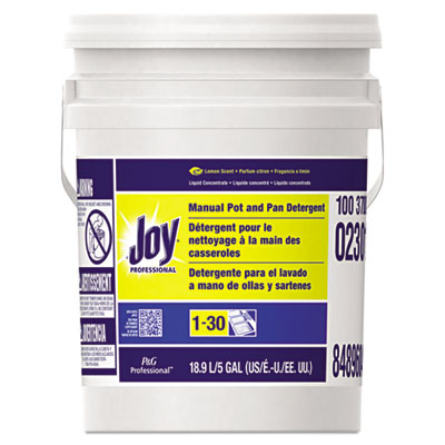 JOY LEMON SCENT 5 GAL PAIL DISHWASHING PGC02301