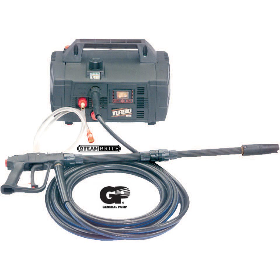 General Pump PU1021B Turbo 21 Boxjet Electric Pressure Washer 1000psi 2.1gpm