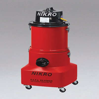 Nikro: PW10088-220 - 10 Gallon HEPA Vacuum (Wet/Dry) 220V 50/60Hz for international use
