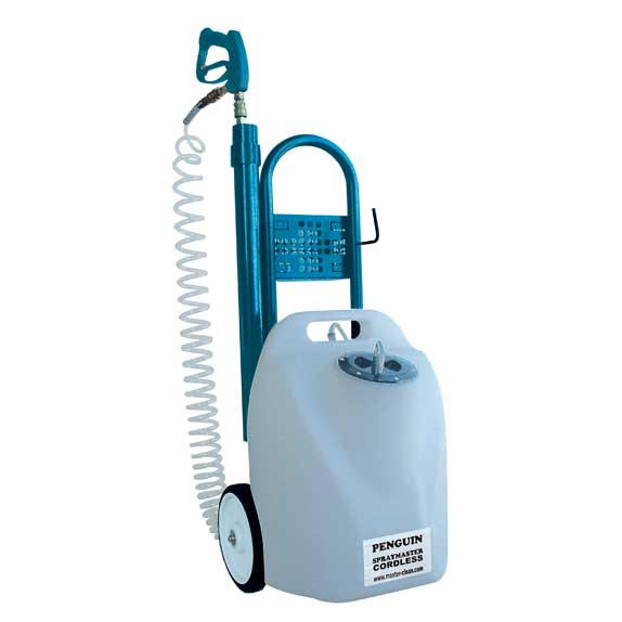StainOut Master Clean Emperor Penguin 115v Electric Sprayer with wheels 71-201 Freight Included