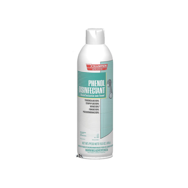 HCR CA5160 Phenol Disinfectant case of 12/16.5 ounce aerosol cans
