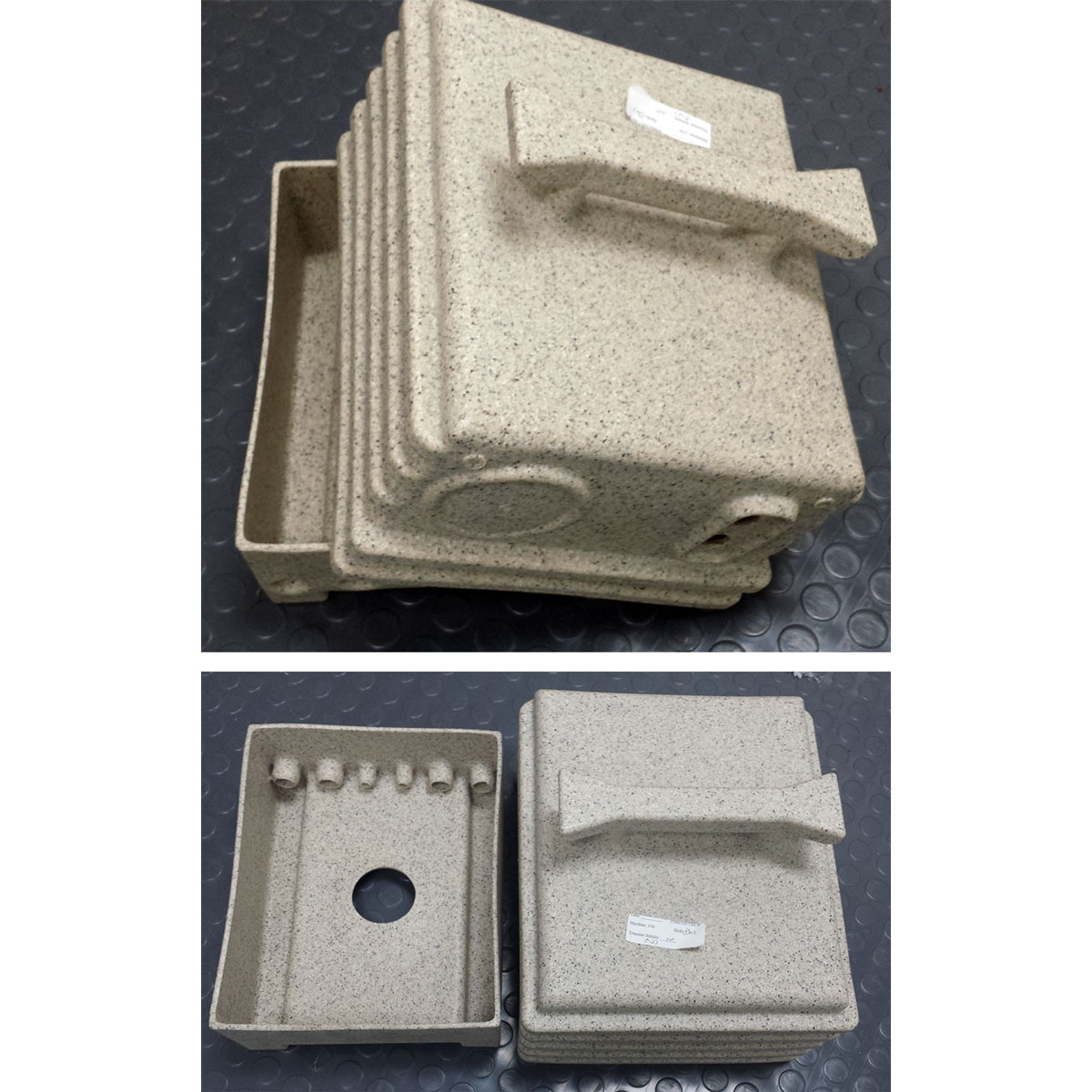 Clean Storm Roto-Mold Plastic Job Box for High Pressure Heaters, Misting systems, Pump box, and Similar 8970568