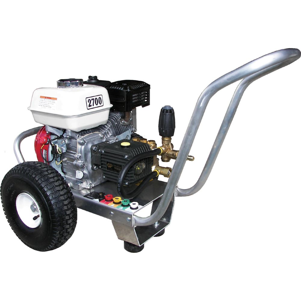 Pressure Pro E3027HG Eagle 3gpm 2700psi Gas Direct Cold Pressure Washer 6.5hp Honda General Pump Free Shipping
