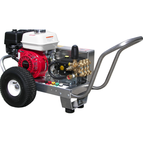 Pressure Pro EB3025HA Eagle Series Gas Vbelt Cold Water Honda Engine 3gpm 2500psi Arimitsu Pump