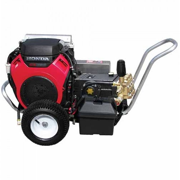 Pressure Pro VB8030HGEA406 Pro Series Vbelt Gasoline Cold Water Honda GP Pump 3000psi 8gpm