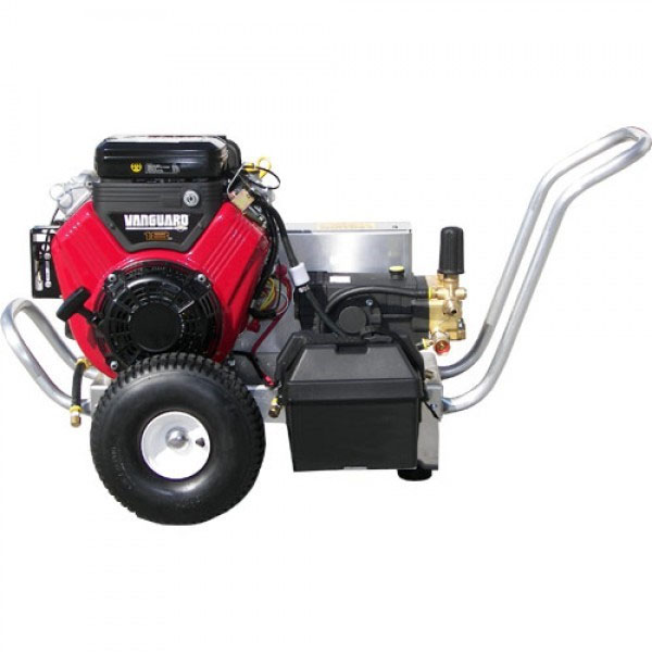 Pressure Pro VB5535VGEA411 Pro Series Vbelt Gasoline Cold Water Vanguard HP Pump 3500psi 5.5gpm