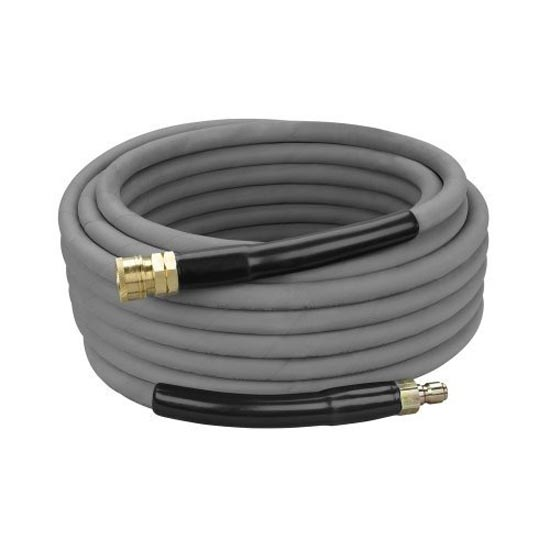 Pressure Pro 134-001012-Qc 4000 psi Non Marking Gray Pressure Washer Hose with Couplers