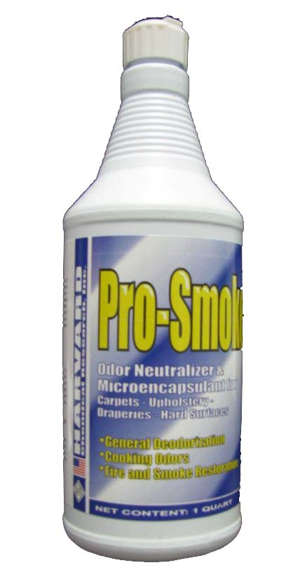 Harvard Chemical Pro-Smoke Odor Neutralizer 72212 Case  12/1 Quart Bottles
