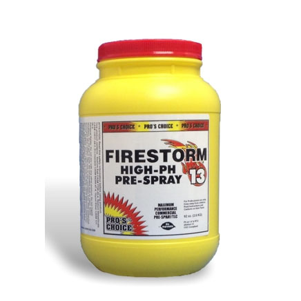 ProsChoice 3056 FireStorm High PH Traffic Lane Cleaner & Prespray Powder 528 oz pail 33 lbs [078345003253]