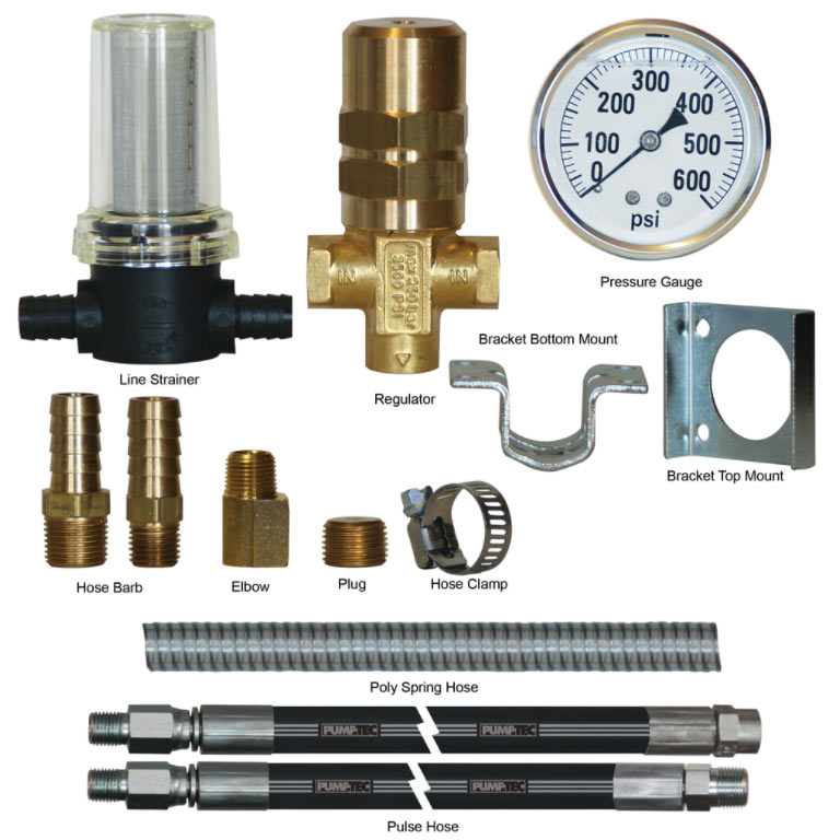 Pumptec 80657 Upgrade Kits for Series 205V and 207V 500 PSI Pumps