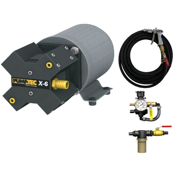 Pumptec 81651 X-6 Series M950 12V Pump Motor Set 6.4GPm 71 Amp KFM Stainless Valves 160Psi Freight Included