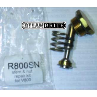 PMF: R800SN Repair Kit for V800 Valve with New Stem and Nut