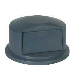 RCP 2657-88 GRA Rubbermaid® Commercial Round Brute® Dome Top