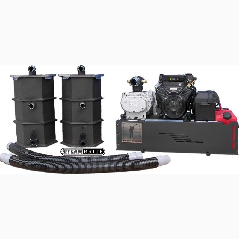Hydrotek RGV40H Gas Powered Vacuum Water Recovery System Flood Pumper Extraction 21 hp Truckmount FREE Shipping 2145
