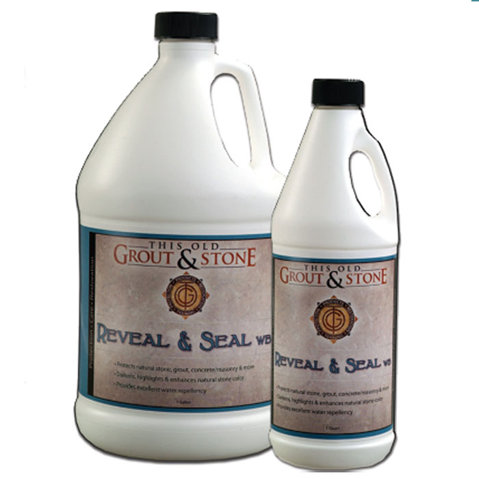 This Old Grout & Stone: Reveal and Seal WB  - 1 Gallon
