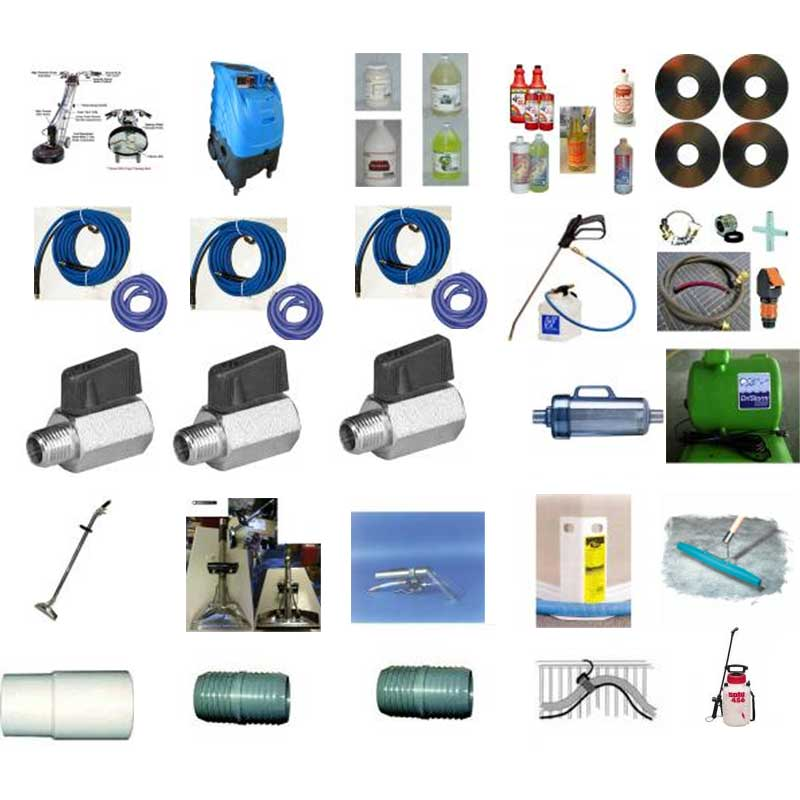 Rotovac 360i Starter Package Package (well rounded)