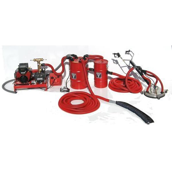 Sirocco SGV3-16s Vacuum Reclaim System for Pressure Washing and Flood Extraction FREE Shipping