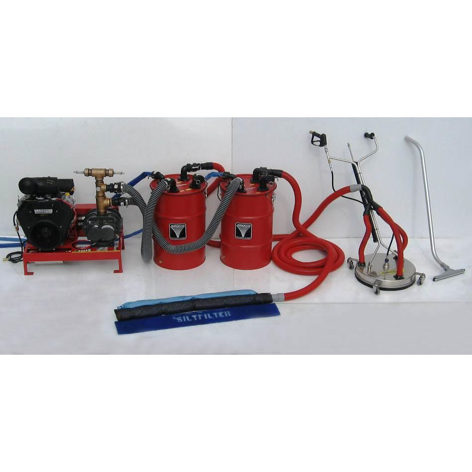 Sirocco SGV4-37efi Vacuum System with Auto Pump Out For Pressure washer and Flood Extraction FREE Shipping