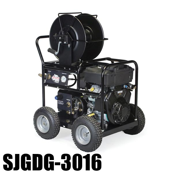 Shark SJGDG-3016 - 1.107-060.0 - Gas Engine Jetter - 5.5 GPM - 3000 PSI - 480cc Vanguard Engine - Triplex Direct-Drive PUMP - 280lbs