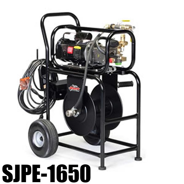 Shark SJPE-1650 (Base Model) 11060480 Electric Sewer Jetter - 1500 PSI - 1.7 GPM - 1-1/2hp Motor 1725 RPM - Triplex Pump - 130lbs