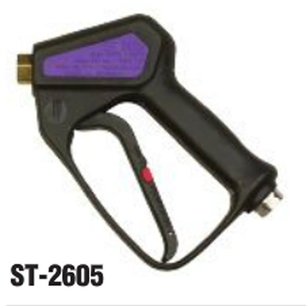 Suttner: St-2605 - 87103760 Trigger Gun - @5000PSI - 12Gpm - 352219 - 4-01223 - 728401 - 300 degrees Fahrenheit - 3/8'' FPT inlet x 1/4'' FPT outlet - 21oz