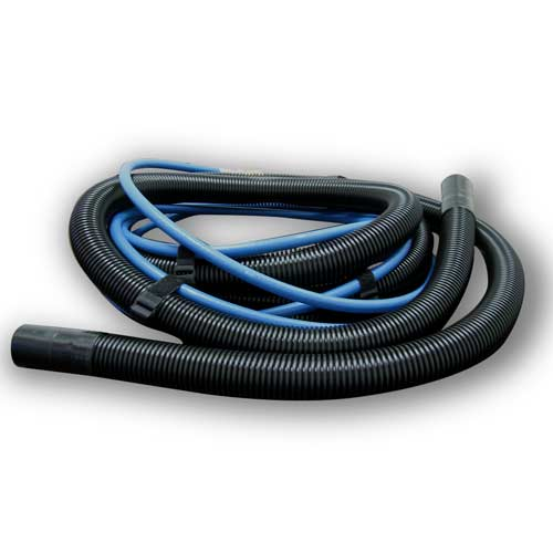 Sandia Hose Set 15ft x 1-1/2in ID Vacuum & 1/4in Solution with QDs with Velcro Straps [8500 Sandia]