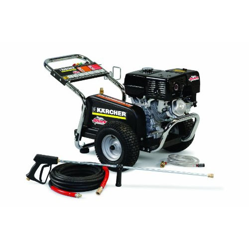 Shark Cold Water Gas Powered Belt Driven Pressure Washer 2.5GPM 2700PSI 6.5HP 1.107-143.0 BG-252737 Freight Included