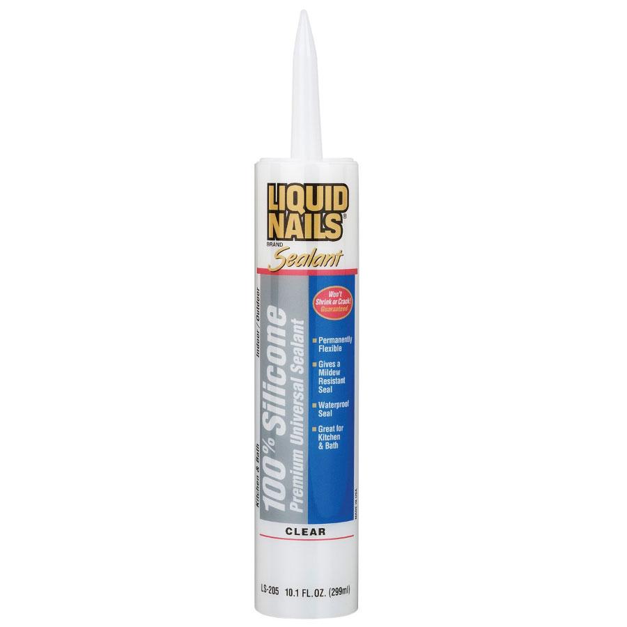 Liquid Nails Silicone Premium Universal Sealant Ls 205