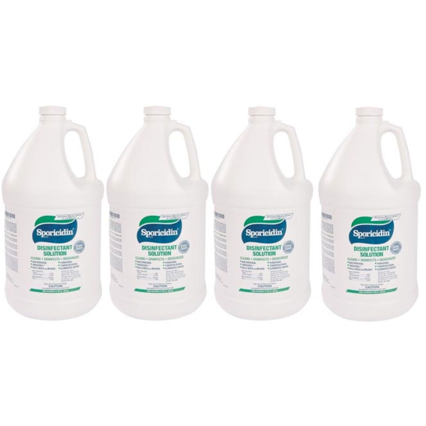 Sporicidin Disinfectant RE-1284C 4/1 Gallon CASE CH1286 RE-1284F 861105 In Stock Sodium Phenate / Phenol