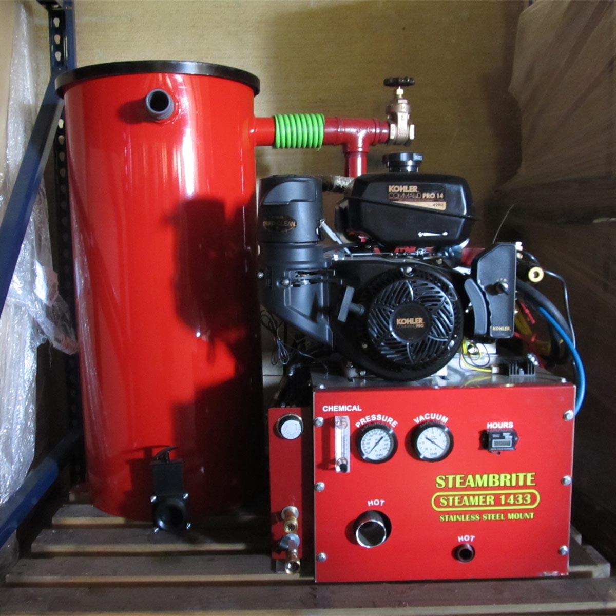 Steambrite 16hp Tm1633b Briggs 33 Truckmount Carpet