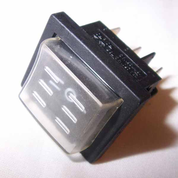 Mytee E516 Rocker Switch 3 Position On/Off/On DPDT