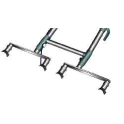Clean Storm T-4S Tandem Connection Bar For CRB Floor Scrubber machine TM4-TB 67-062 E86 BACK ORDER UNTIL THE END OF MARCH!!