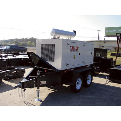 Taylor: Mobile Generator Set 175 kW 208 Volt Model NT175-172009B