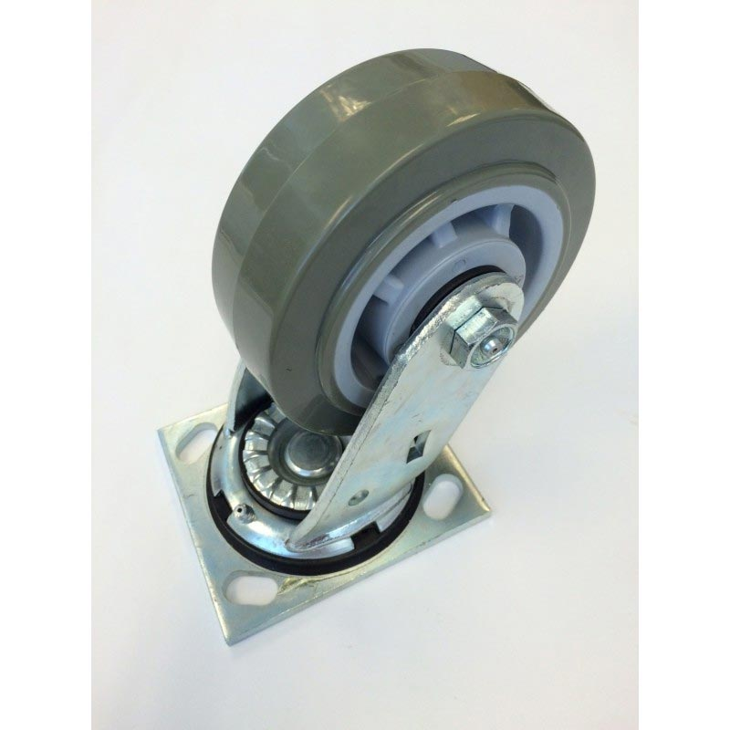 Factory Cat Minuteman Nilfisk Advance Clarke American Lincoln Tennant Nobles Castex 5in X 2 in Swivel Caster 8.660-611.0