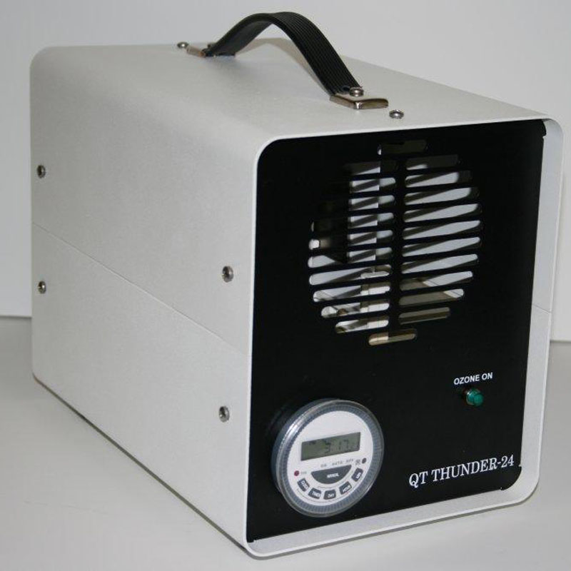 Queenaire QT Thunder 24 Ozone Generator 300mg Fixed Output w/ Variable Timer Freight Included