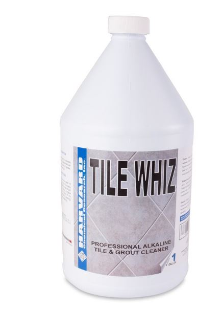 Harvard Chemical Tile Whiz Alkaline Tile Cleaner ph12.5 Case  4/1 Gallon Bottles 1970-4