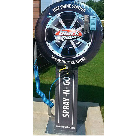Car Care Station 20130921 Tire Shine Station Auto Detail Machine FREE SHIPPING