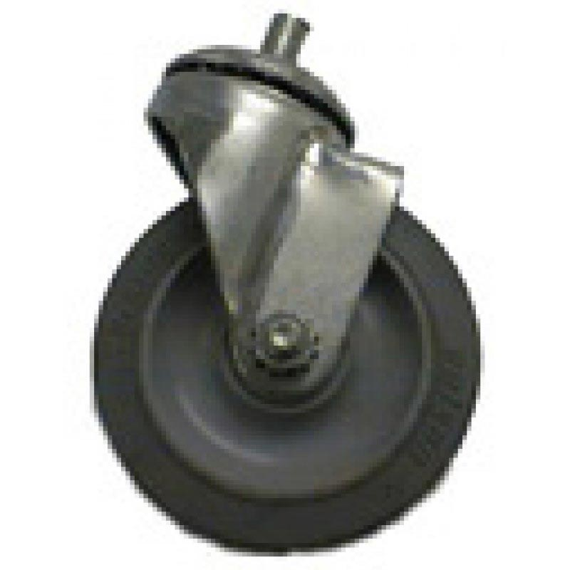 Nilfisk/Advance/Clarke/American Lincoln, Tennant/Nobles/Castex, Tornado 4 in Stem Swivel Caster 8.660-848.0