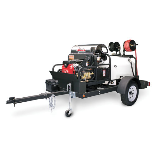 Shark Affordable Pressure Washer Trailer Single Axle 3500lbs 200Gal TRS2500