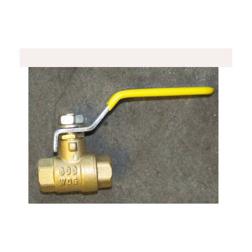 AH53 Ball Valve: 1/4in Fip X 1/4in Fip Female Pipe x Female 600 Psi Brass