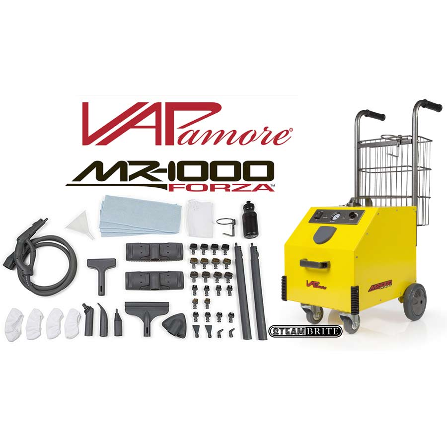 Vapamore MR-1000 Forza Commercial Grade Steam Cleaning System FREE Shipping