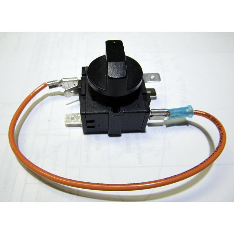 Air mover 3 Position Rotary Switch Assembly 955E543 E1000A