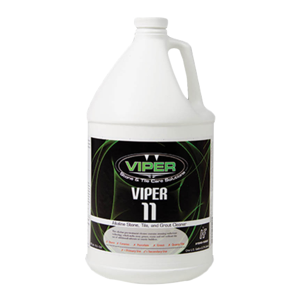 HydroForce CH43GL: Viper 11 Stone, Alkaline Tile and Stone Cleaner 1 Gallon - 1610-1913 - CR43GL