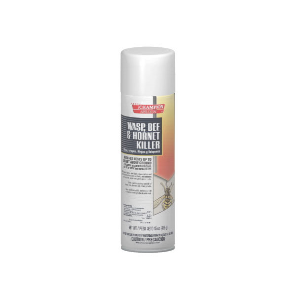 HCR CA5108 Wasp, Bee & Hornet Killer case of 12/15 ounce aerosol cans