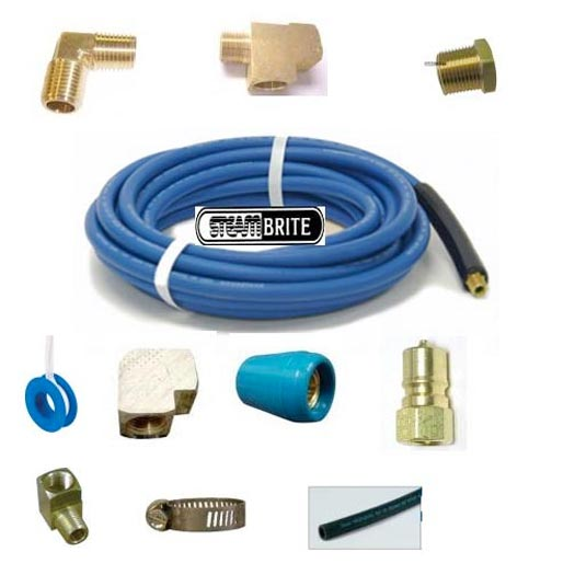 Little Giant Solution 1/4 In Id High Pressure Water Hose 15 ft Connection Kit 20141428