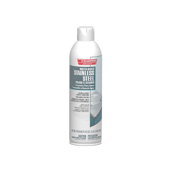 HCR CA5153 Water Based SS Cleaner case of 12/17.5 ounce aerosol cans
