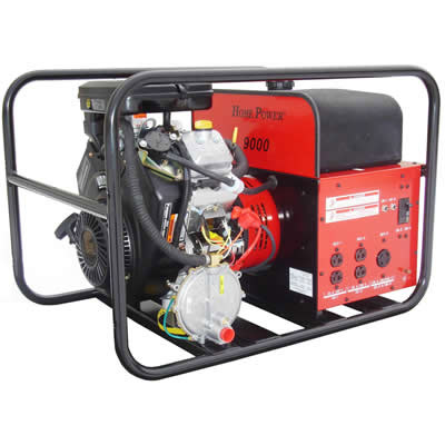 Winco Generators: Home Power-HPS9000VE-Tri-Fuel-Portable Generator, 9000 Watt, 120 Volt, 4.0HP, B&S/OHV Engine