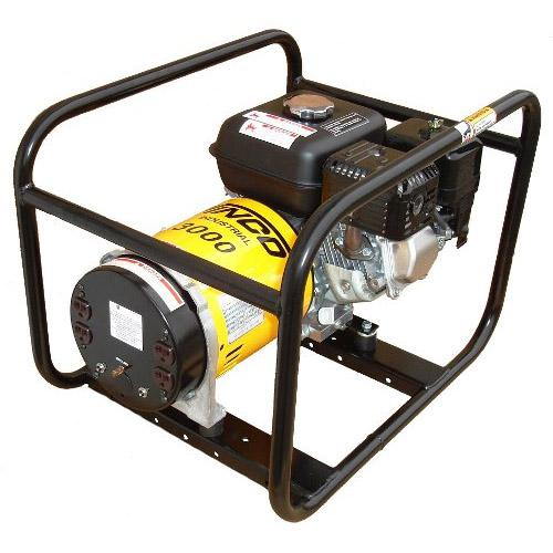Winco Generators: WT3000H-Industrial Portable Generators, 3000/2500 Watt, 120 Volt, 1 HP, Honda/OHV Engine