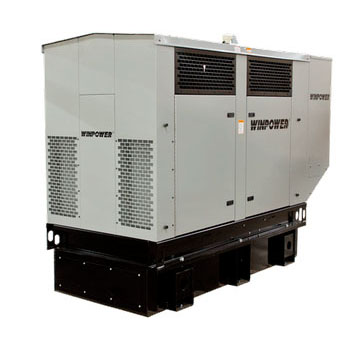 Winco DR45I4 Emergency Stanby Generator liquid cooled diesel 65kw 1800rpm    Free Shipping