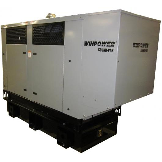 Winco DR65I4 Emergency Standby Generator 94hp diesel 1800rpm 62kw    FREE SHIPPING